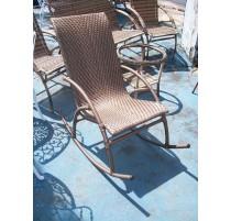Cadeira de balanço em fibra sintética- 2357