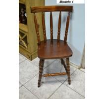 Cadeira Country -Imbuia Grande- 2494