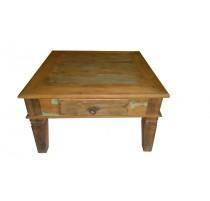 Mesa de centro rustica de madeira demolição - 1530