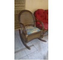 Cadeira de Balanço de apuí - 1861