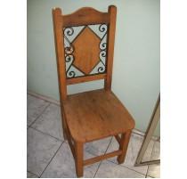 Cadeira Rustica com Ferro - 1622