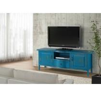 Rack 1,60 madeira  - Azul - 2124