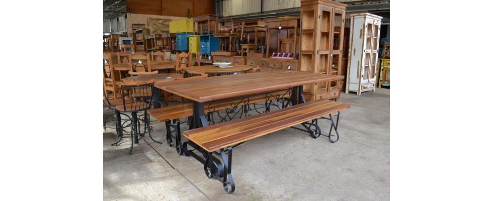 mesa pé de ferro