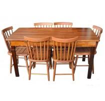 Mesa em madeira de Lei 1,60 - MEL - 2197